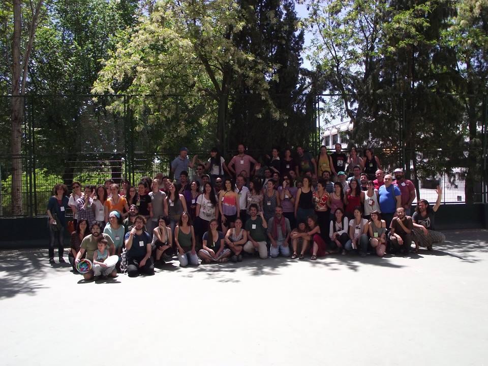 Foto de grupo del Encuentro
