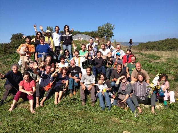 Foto de grupo del encuentro en Lyon en 2013