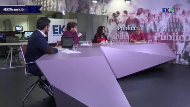 Participantes en el debate de EKO