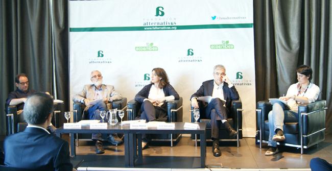 Ponentes Debate sobre Sostenibilidad