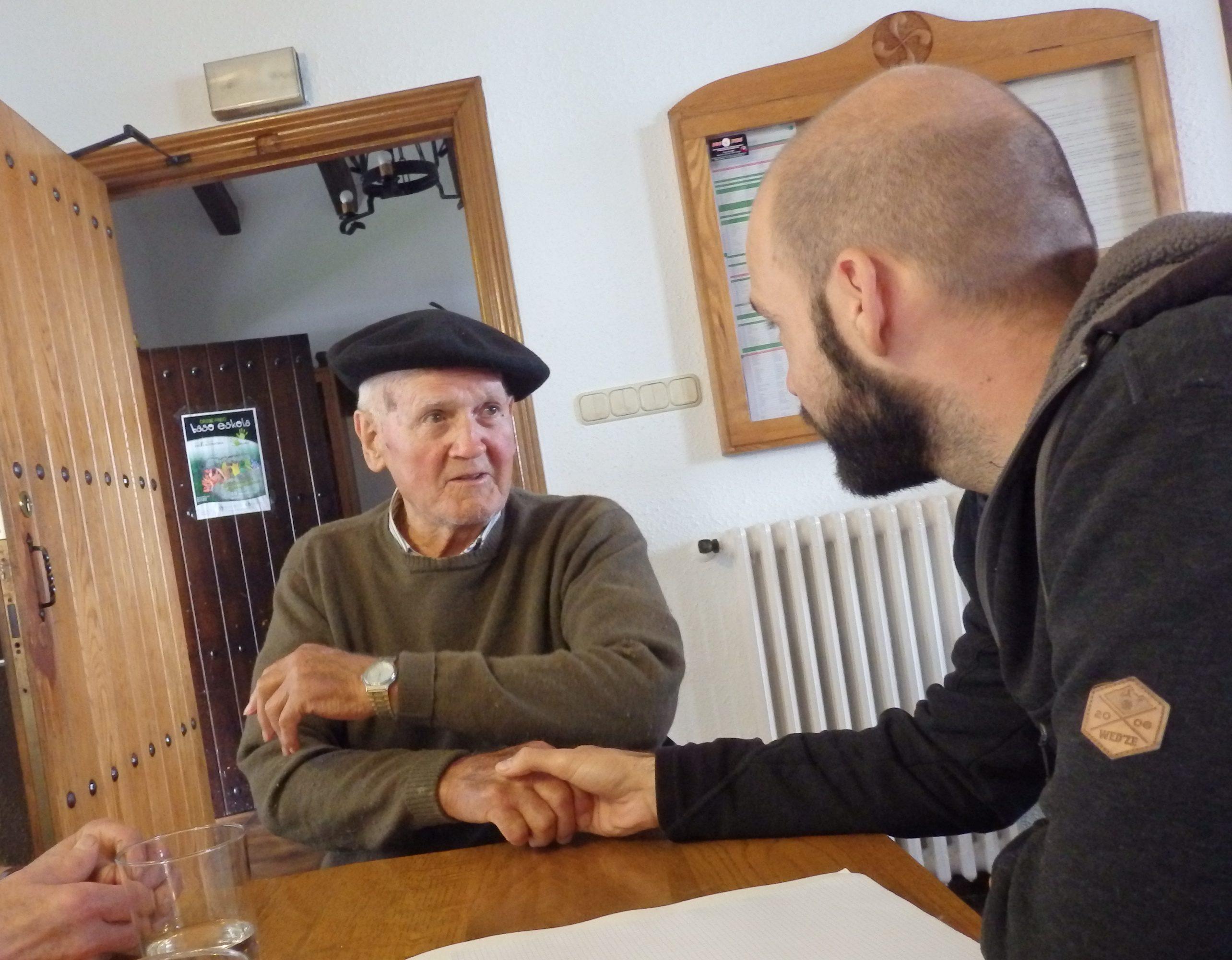 Entrevista con los mayores de Orendain