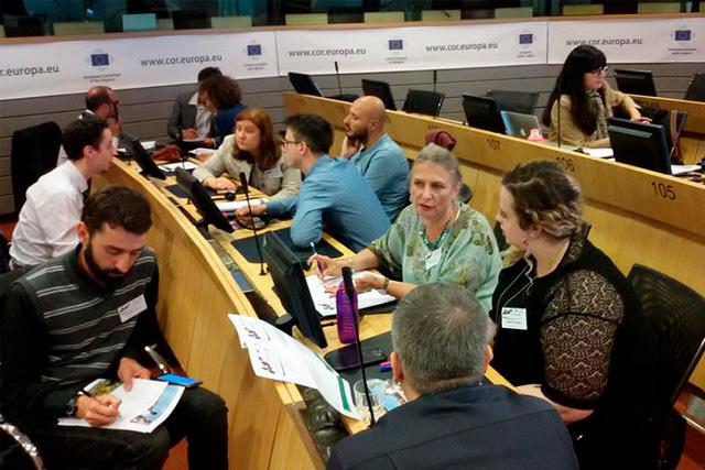 Municipios en Transición se presenta en el Día Europeo de las Comunidades Sostenibles: los grupos de trabajo en acción.