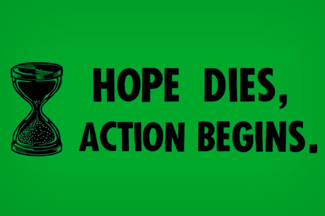 Extintion Rebellion: Muere la esperanza, empieza la acción.