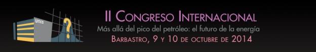 2º congreso internacional pico del petróleo