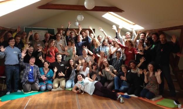Grupo encuentro internacional transición 2014 Copenhague