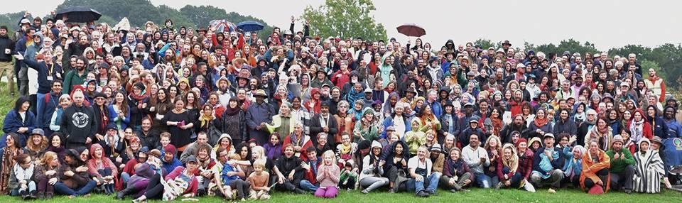 Foto de grupo del encuentro de Permacultura