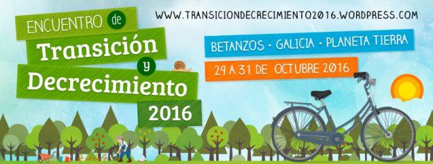 Encuentro Transición y Decrecimiento 2016