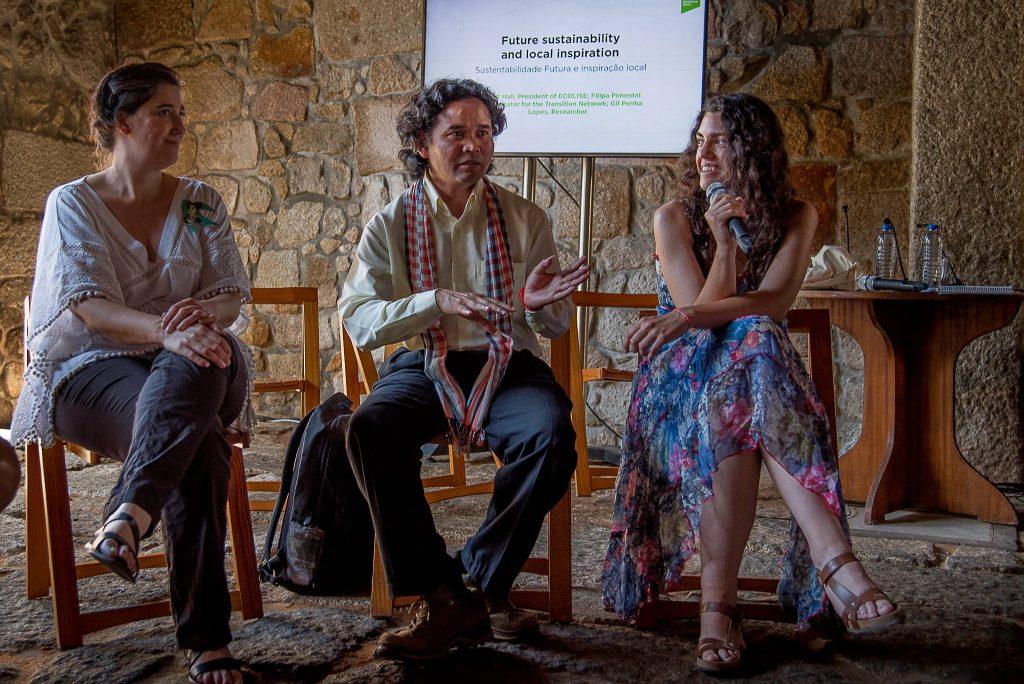 Filipa Pimentel, Leng Ouch y Ana Huertas