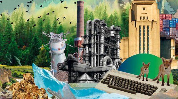 Imagen promocional de la exposición DESPUÉS DEL FIN DEL MUNDO