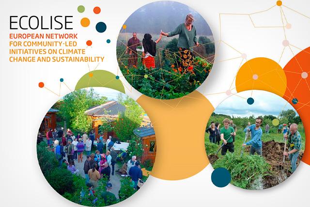 Día Europeo de las Comunidades Sostenibles 2019: ECOLISE, la Red Europea de Iniciativas Comunitarias para la Sostenibilidad y el Cambio Climático.