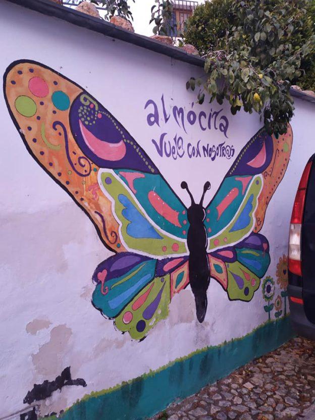 Arte en la calle en Almócita