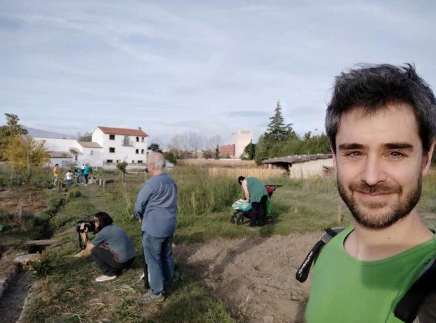 Equipo de rodaje para este viaje: Eli, Agusti y Juan