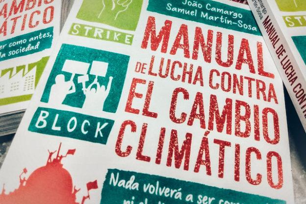 Manual de lucha contra el cambio climático: portada.
