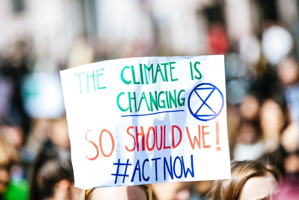 climate is changing so should we